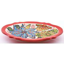 TRAY PLATE SNACK TRAY 25552.R