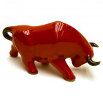 TAUREAU SCULPTURE SOUVENIR 32997.RS