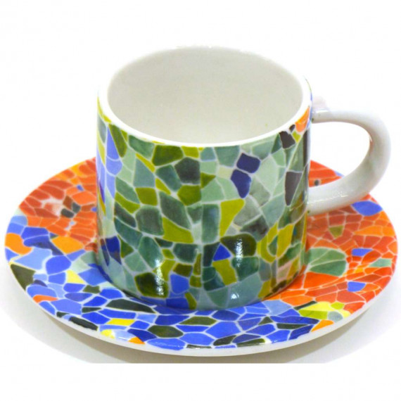 CUP PLATE CUP WITH DISHES 24563