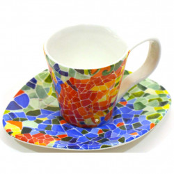 CUP WITH DISHES CUP PLATE 24375