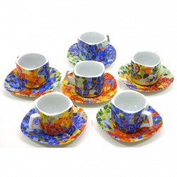SET DE TASSES TASSE PLAT 31935