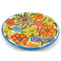 PLATE DECORATIVE PLATE WALL SNACK TRAY 29522.A