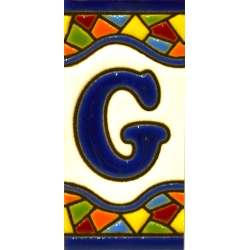 TILE LETTERS AND NUMBERS  A17308.G.MM