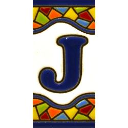 AZULEJO NUMEROS Y LETRAS  A17308.J.MM