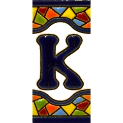TILE LETTERS AND NUMBERS  17308