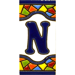 TILE LETTERS AND NUMBERS  A17308.N.MM