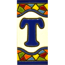 TILE LETTERS AND NUMBERS  A17308.T.MM