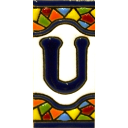 TILE LETTERS AND NUMBERS  A17308.U.MM