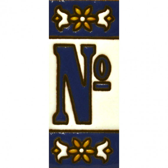 TILE LETTERS AND NUMBERS  01454