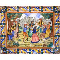 MURAL SOUVENIR AZULEJO 18985
