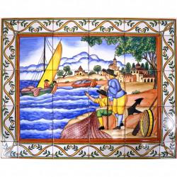 MURALE AZULEJO  04195