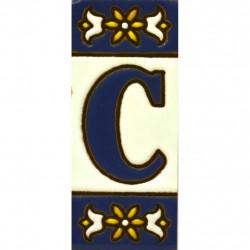 CARREAU NUMÉROS ET LETTRES  01454