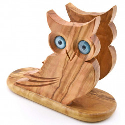 NAPKIN HOLDER OWL  36009