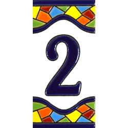 AZULEJO NUMEROS Y LETRAS  A17307.2