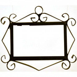 IRON FRAME FRAME LETTERS AND NUMBERS 18151
