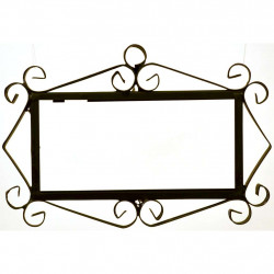 IRON FRAME FRAME LETTERS AND NUMBERS 18152