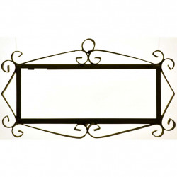 IRON FRAME FRAME LETTERS AND NUMBERS 18153