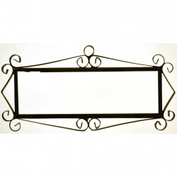 IRON FRAME FRAME LETTERS AND NUMBERS 18154