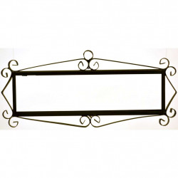 IRON FRAME FRAME LETTERS AND NUMBERS 18155