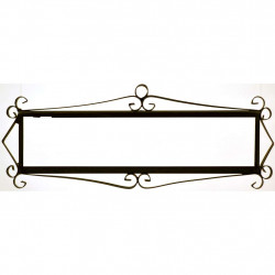 IRON FRAME FRAME LETTERS AND NUMBERS 18156