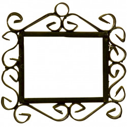 IRON FRAME FRAME LETTERS AND NUMBERS 03542