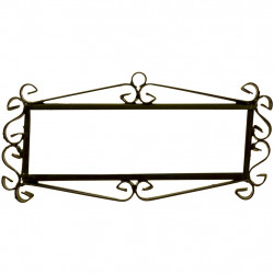 IRON FRAME FRAME LETTERS AND NUMBERS 03546