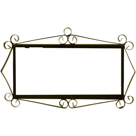 IRON FRAME FRAME LETTERS AND NUMBERS 03554