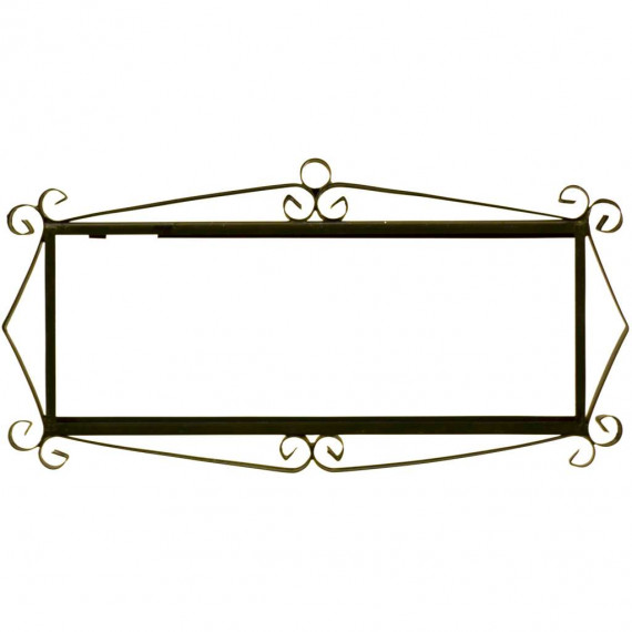 IRON FRAME FRAME LETTERS AND NUMBERS 03555