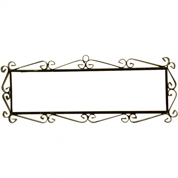 IRON FRAME FRAME LETTERS AND NUMBERS 09662