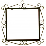 IRON FRAME FRAME LETTERS AND NUMBERS 17601