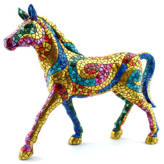 CHEVAL  SCULPTURE 28435