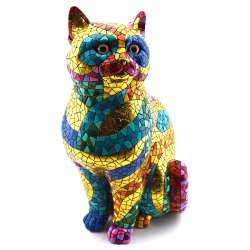 CAT SCULPTUR  28422