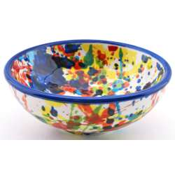 SNACK TRAY BOWL ROUND DISH 34415.A