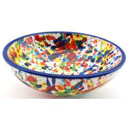 SNACK TRAY BOWL ROUND DISH 34416.A