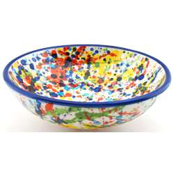 SNACK TRAY BOWL ROUND DISH 34417.A