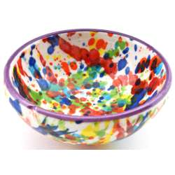 SNACK TRAY BOWL ROUND DISH 34414.L