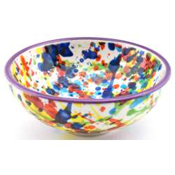 SNACK TRAY BOWL ROUND DISH 34415.L