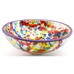 SNACK TRAY BOWL ROUND DISH 34416.L
