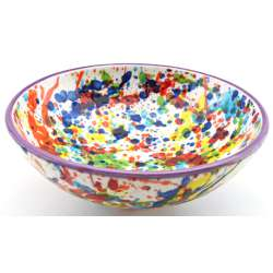 SNACK TRAY BOWL ROUND DISH 34417.L