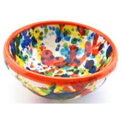 SNACK TRAY BOWL ROUND DISH 34414.N