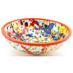 SNACK TRAY BOWL ROUND DISH 34416.N