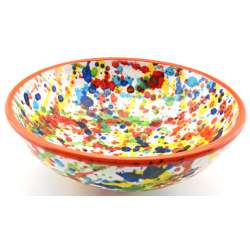 SNACK TRAY BOWL ROUND DISH 34417.N