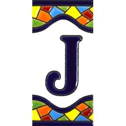 AZULEJO NUMEROS Y LETRAS  A17307.J