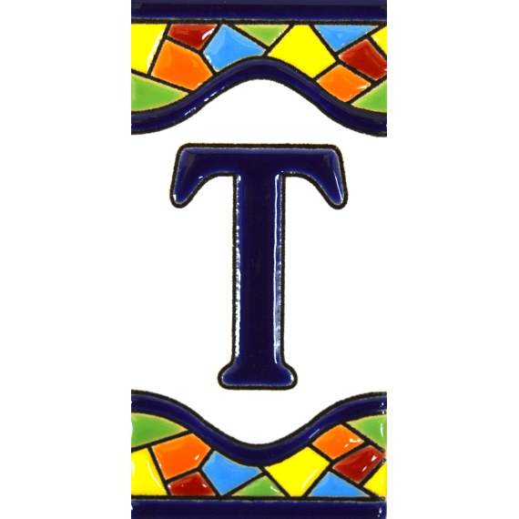 TILE LETTERS AND NUMBERS  17307