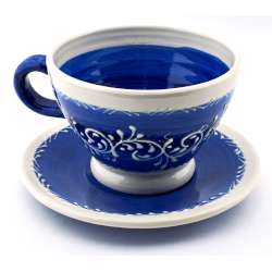 CUP WITH DISHES   23603