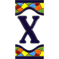 AZULEJO NUMEROS Y LETRAS  A17307.X