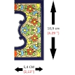 TILE LETTERS AND NUMBERS  A01456..
