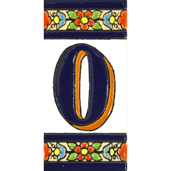 TILE LETTERS AND NUMBERS  A01456.0