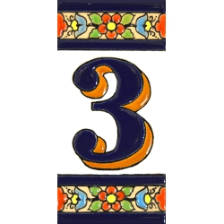 TILE LETTERS AND NUMBERS  A01456.3