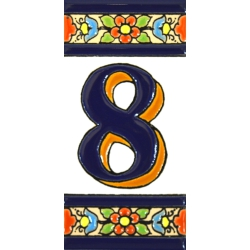 TILE LETTERS AND NUMBERS  A01456.8